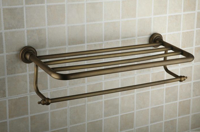 Antique Brass Rose Gold With Porcelain Bathroom Luxurious