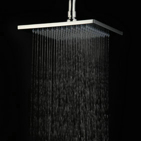 Contemporary 8 Inch Chromed Stainless Steel Rainfall Shower Head HB08