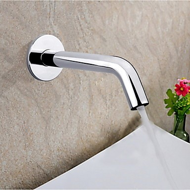 Sensor Contemporary Hands Free Bathroom Sink Taps-Chrome Finish N0832