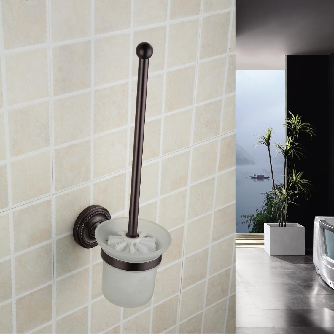 Oil Rubbed Bronze Wall Mounted Wall Mounted Toilet Brush