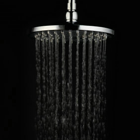 Contemporary 8 inch Brass Rainfall Shower Head RB08A