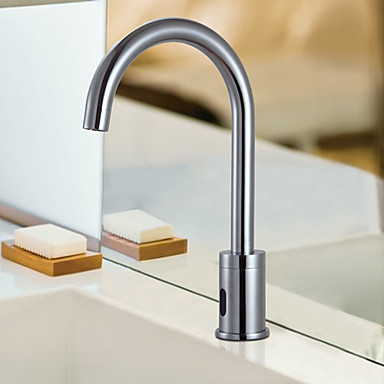 Contemporary Cold Water Automatic Touchless Sensor Sink Tap - T0108