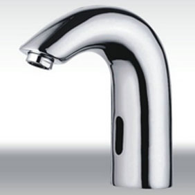 Contemporary Cold Water Automatic Touchless Sensor Sink Tap - T0114