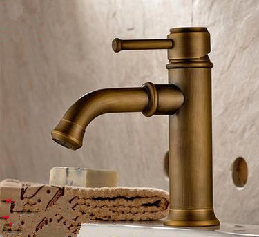 Antique New Arrival Brass Bathroom Mixer Water Sink Tap T0138Z