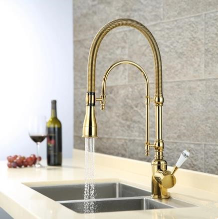 Brass Pressurize Mixer Water Multi-function Kitchen Sink Tap T0810G