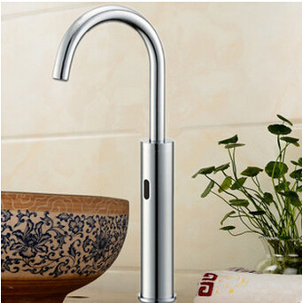 Automatic Brass Bathroom Sink Tap Hands Free Tap TA2600