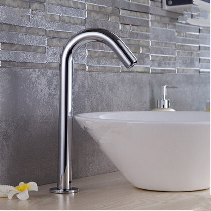 Automatic Brass Bathroom Sink Tap Free Hands Only Cold Water Automatic Tap TA330Y