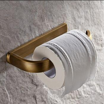 New Antique Brass Bathroom Accessory Toilet Roll Holder TCB0030